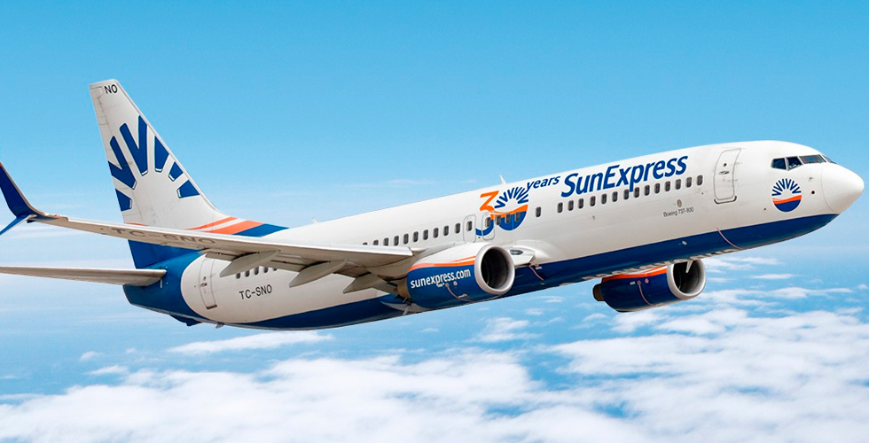 Sun Express uçağında koronavirüs paniği