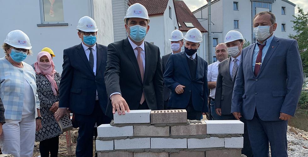 Bünde DİTİB Yeni Camii ve Kültür Merkezi'nin temeli atıldı