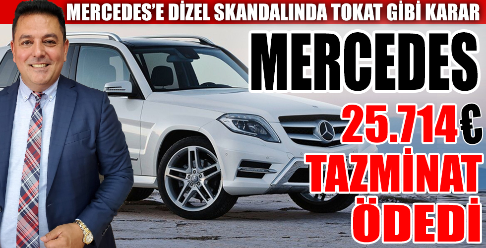 Mercedes sahiplerine müjde!!!