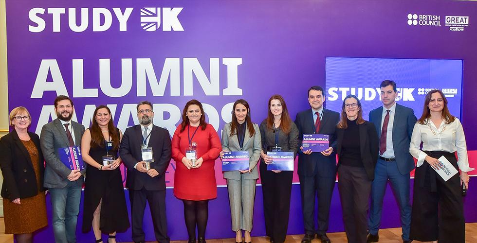 Study UK Mezun Ödülleri ile başarılarınızı dünya ile paylaşmaya hazır olun