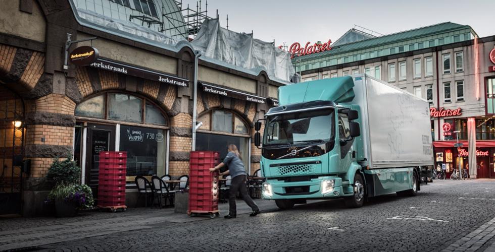Volvo Trucks elektrikli 2021'de yollarda