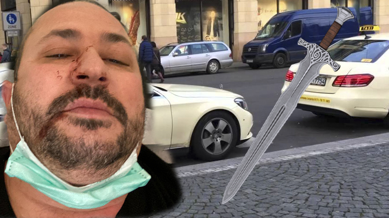 Hagen'de dehşet… Kılıçla saldırdı