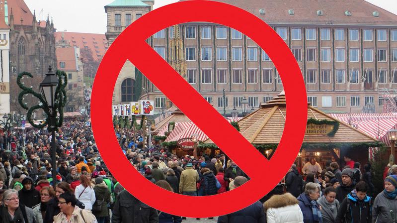 Nürnberg'de yeniden sokağa çıkma yasağı getirildi
