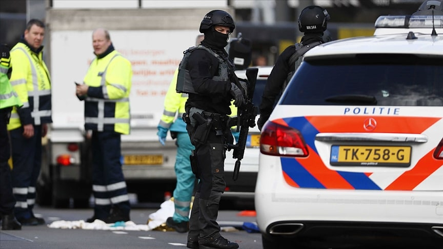Hollanda'da boru tipi bomba ile saldırı gerçekleştirildi