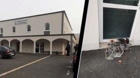 Fransa'da İslam Toplumu Milli Görüşe bağlı cami kundaklandı