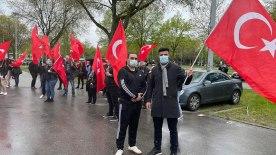 Polis şiddeti Duisburg'da protesto edildi