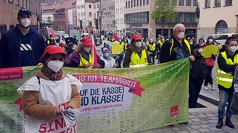 Klinikum Nürnberg'de 24 saatlik grev
