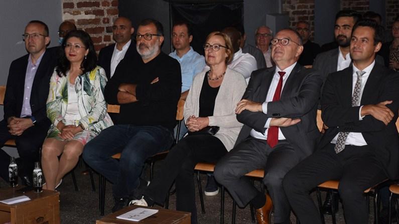 Walter-Borjans, seçime 2 hafta kala Türklerle buluştu