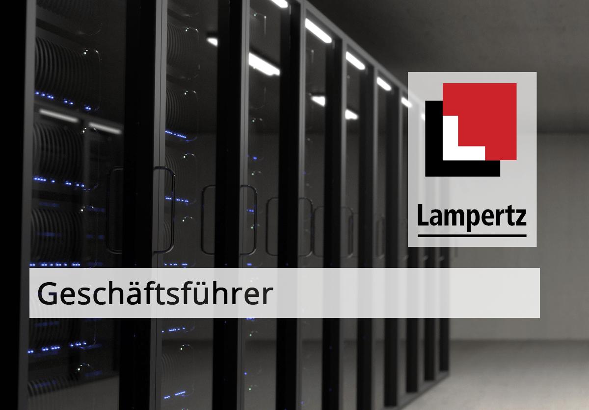 Geschäftsführer Lampertz GmbH & Co. KG - eine Firma der Rittal-Gruppe
