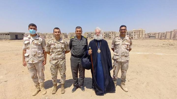 Χώρο για την ανέγερση εκκλησίας στην υπό ανέγερση Νέα Διοικητική Πρωτεύουσά της παραχώρησε η Αίγυπτος προς το Πατριαρχείο Αλεξανδρείας.