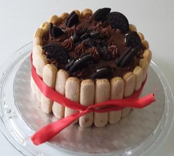 Oreo-Schokoladen-Vanille-Kuchen