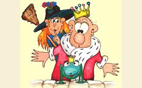 König & Kröte