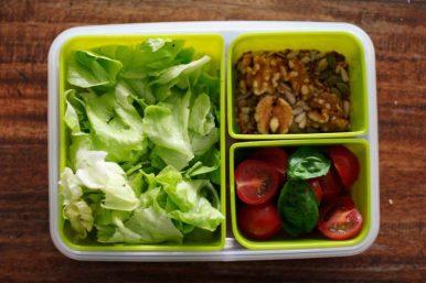 Essen für die Arbeit mit EMSA CLIP & GO Boxen