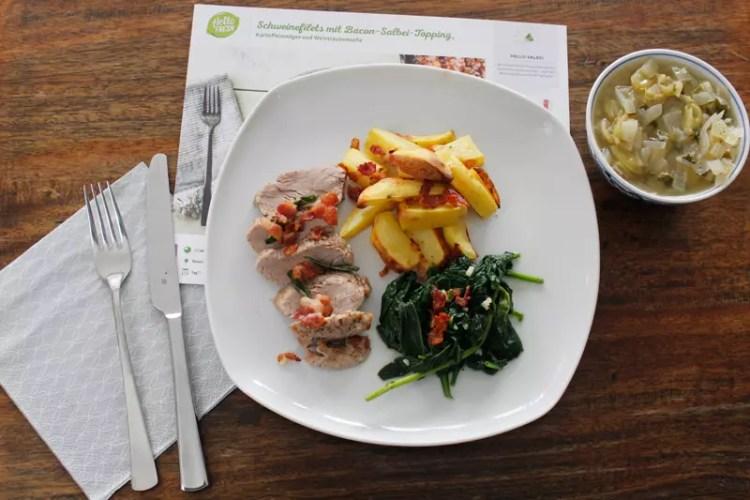 Hellofresh Foodbox Erfahrungen Gerichte Kochen