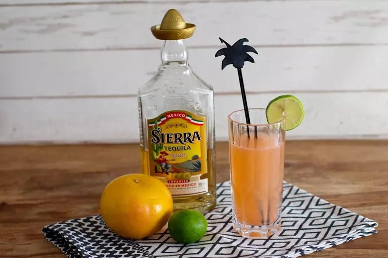 Long Paloma Cocktail Rezept mit Tequila