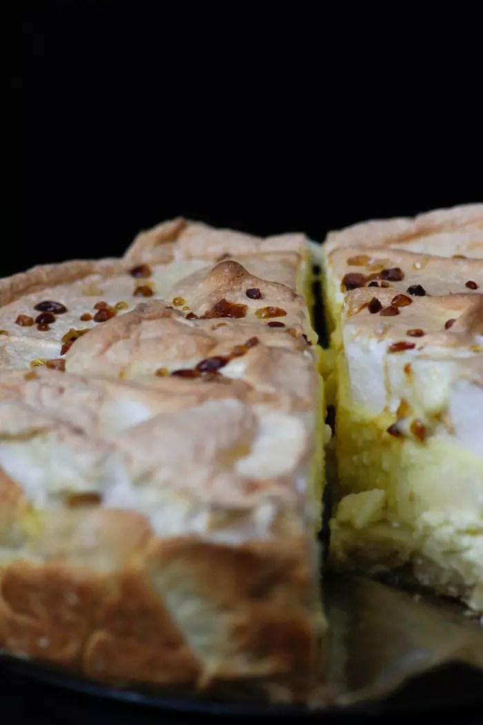 Tränenkuchen Rezept - Käsekuchen mit Baiser