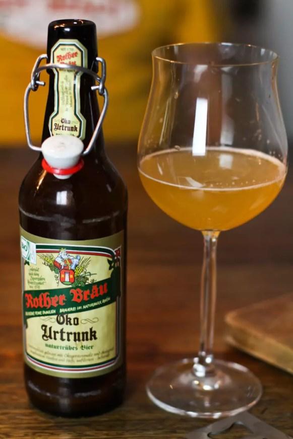 Biertasting Rother Bräu Öko Urtrunk