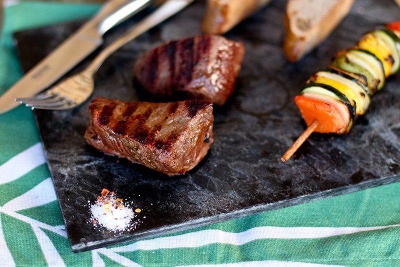 Hirsch Steak vom Grill von Silver Fern Farms