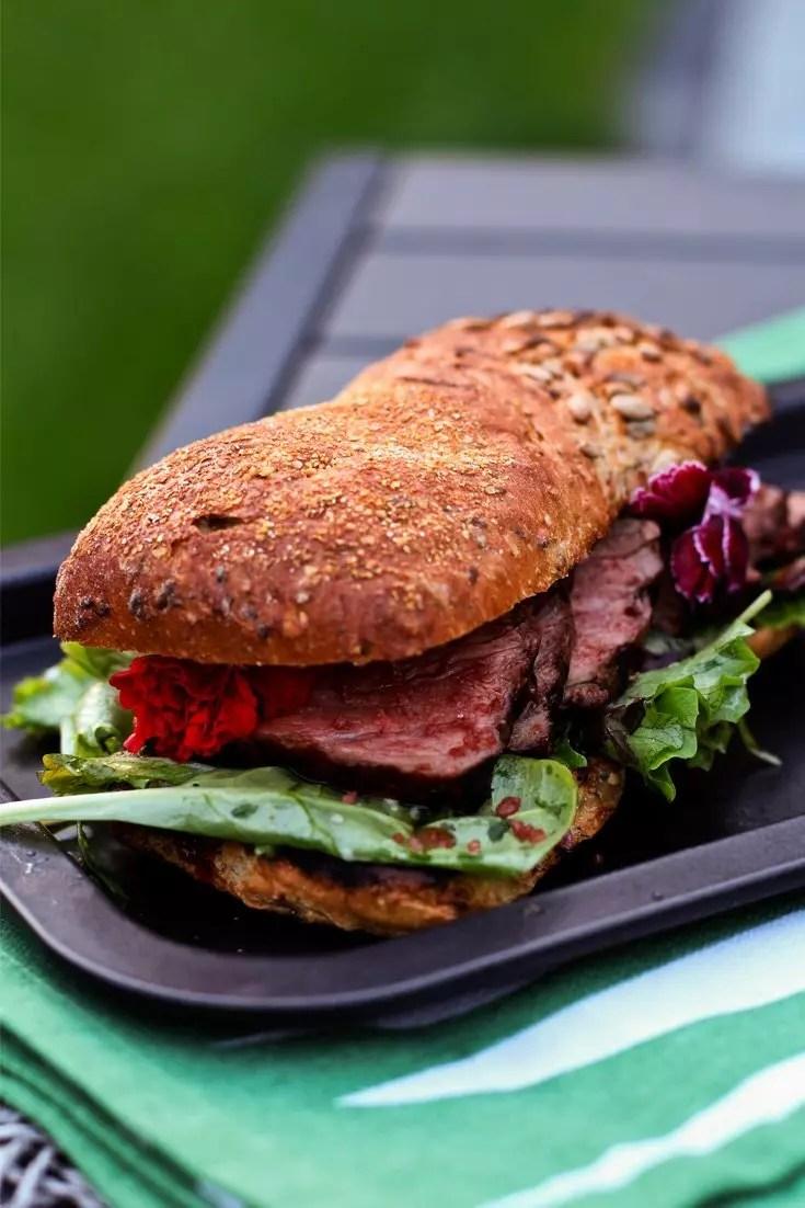 roastbeef sandwich rezept vom grill mit rotem hawaii salz. Black Bedroom Furniture Sets. Home Design Ideas