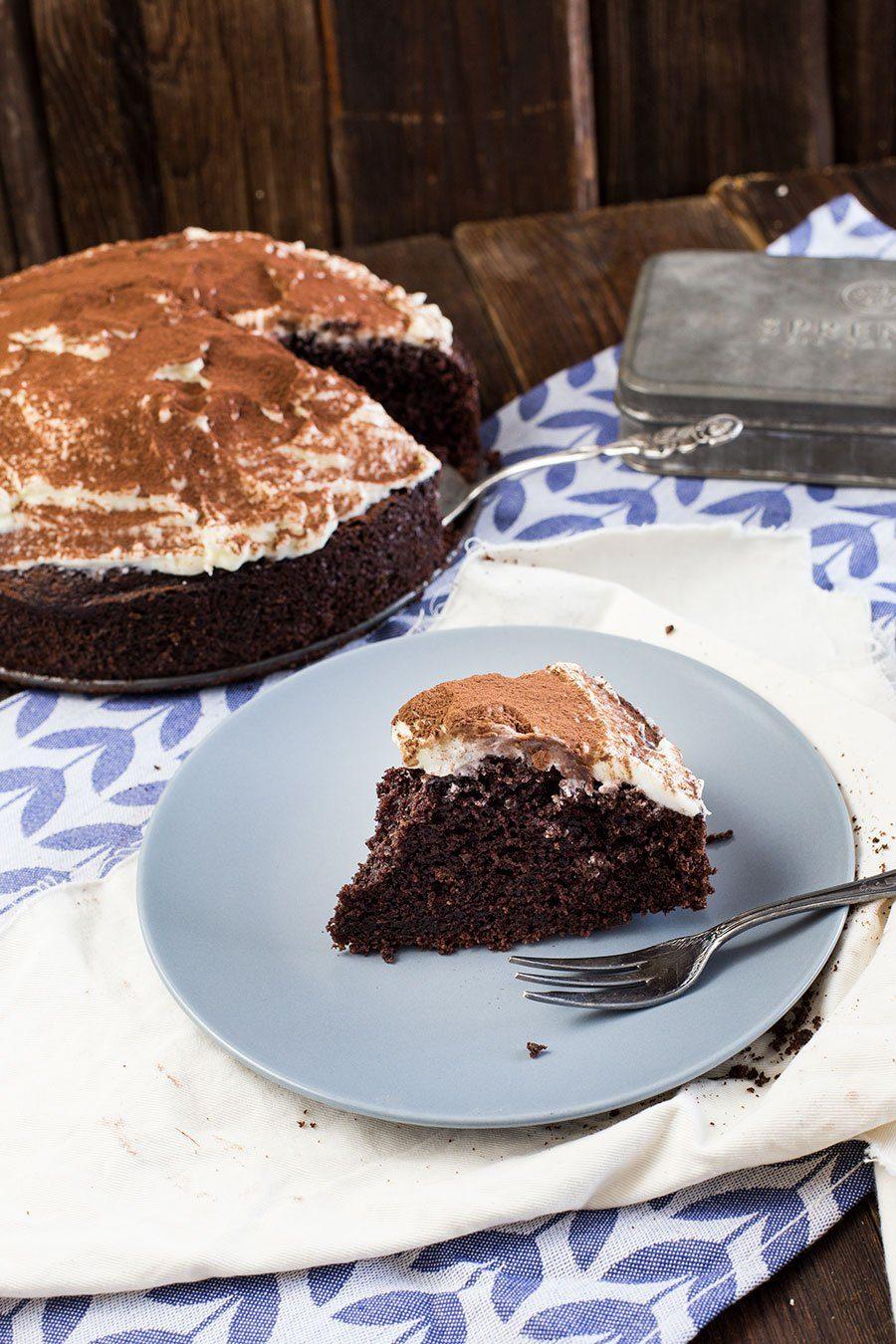 Guinness Schokoladen Kuchen Rezept Backen Mit Bier Guinness