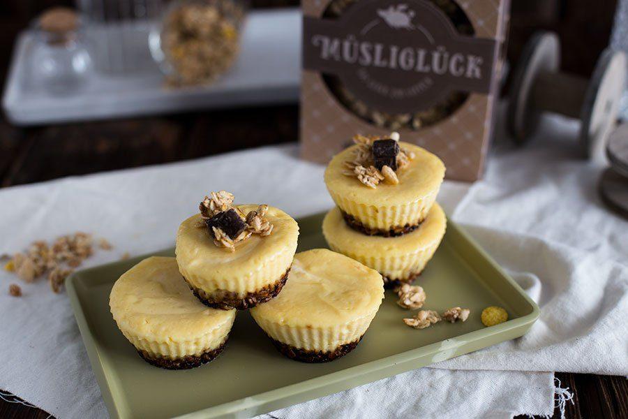 Kasekuchen Muffins Rezept Mit Musliboden Von Musligluck Die Kuche