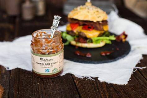 Paprika-Bacon Kerrygold Cheddar Burger Rezept