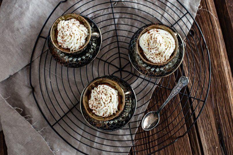 Eine festliches Dessert - Espresso Schokoladen Mousse Rezept