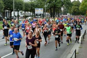 9.9.2018, 29.Barmer Alsterlauf Hamburg Copyright: Foto: Dierk Kruse, Griegstrasse 14, 22763 Hamburg, 0172 5442347, .