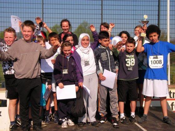 Schülerlauf Siegerehrung 4
