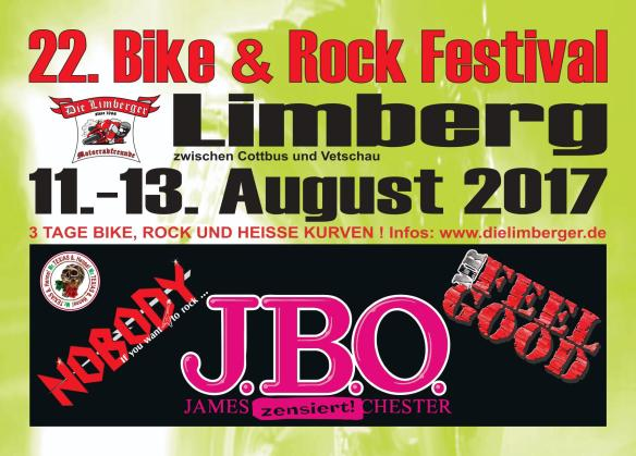 Bike und Rockfestival 2017 in Limberg