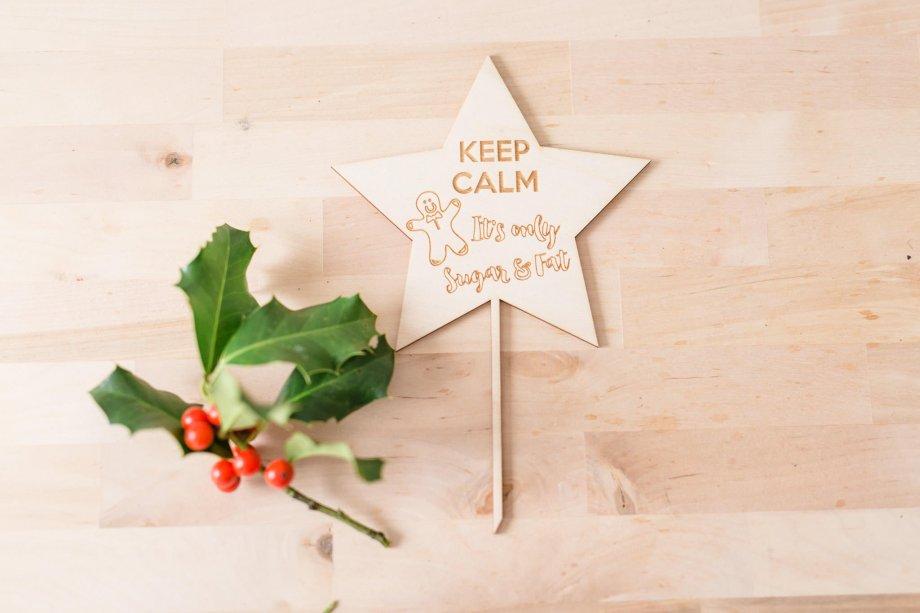 Caketopper Keep Calm