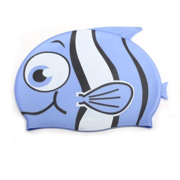 Badehaube-Fisch-blau-Macherei