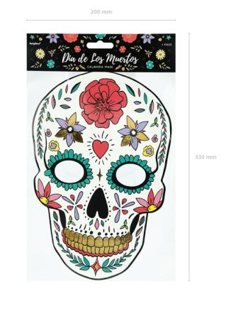 Dia de los muertos Papiermasken