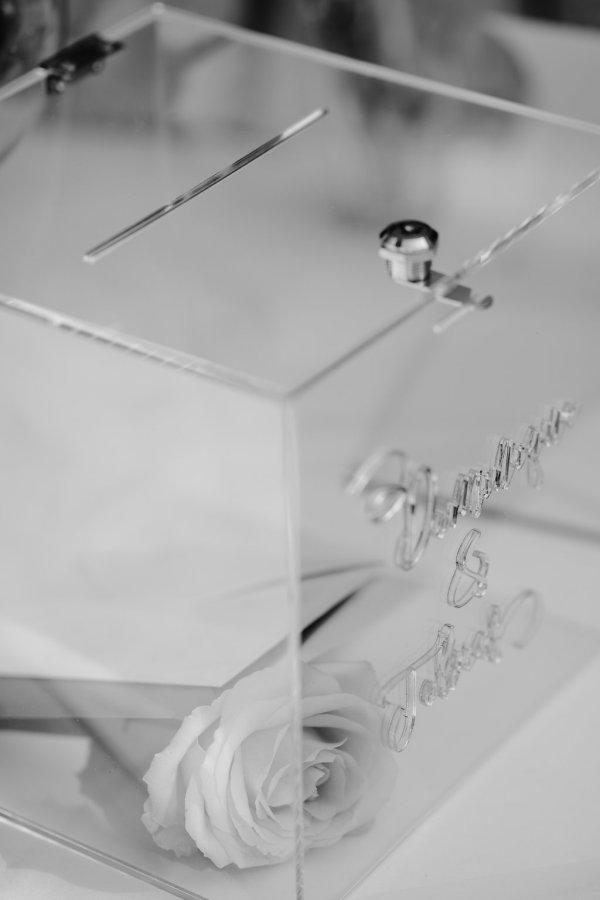 Keepsake Box durchsichtig Acryl