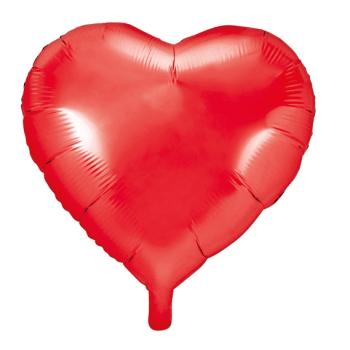 Folienballon Herz Rot . Die Macherei