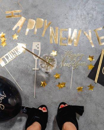 Happy New Year Silvester Dekobox . Die Macherei