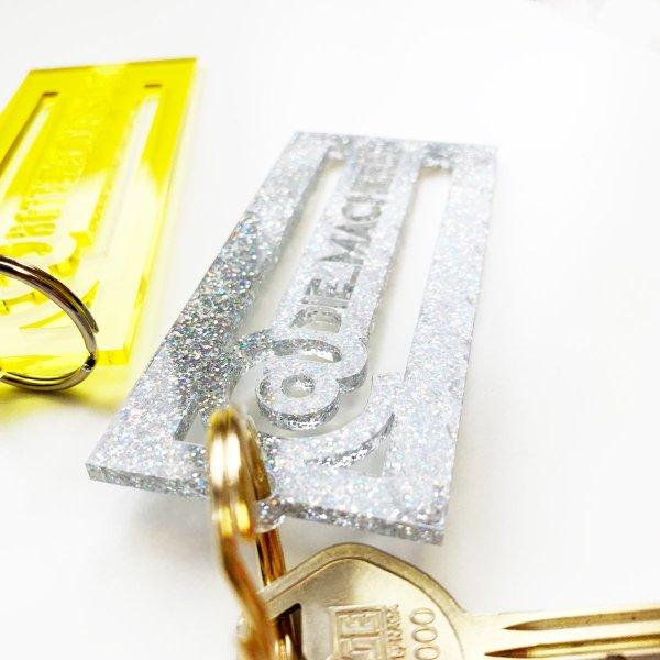 Insta Name Schlüsselanhänger Acryl . Die Macherei