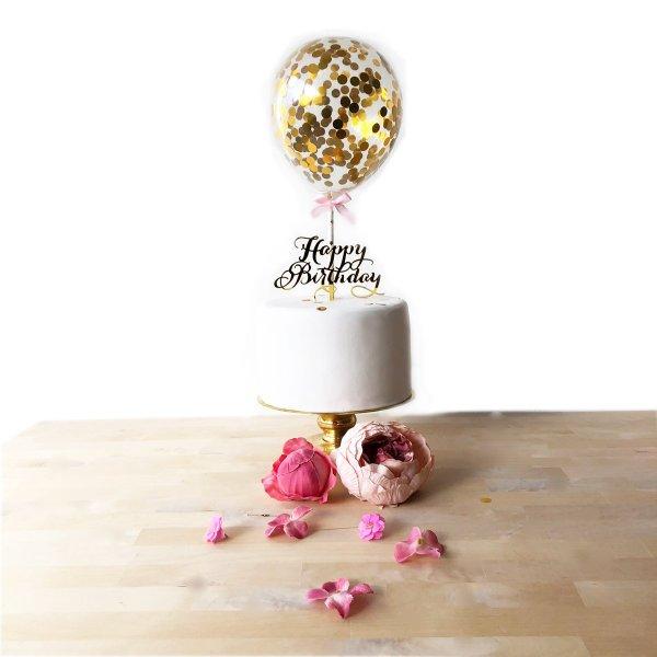 Luftballon_Caketopper_Torte