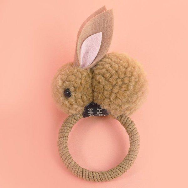 Bunny Haarspange braun