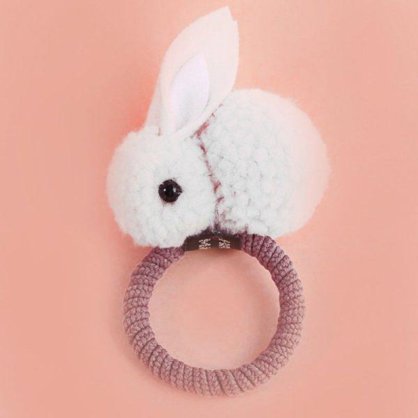 Bunny Haarspange weiß