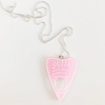 Ouija Kette rosa glitzer Die Macherei