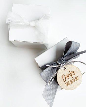 Geschenkverpackung Wuerfel