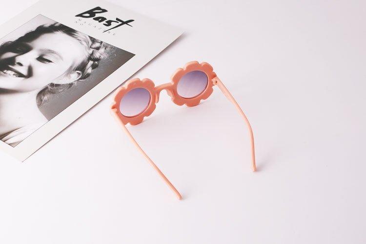 Kindersonnenbrille Blume blush Die Macherei
