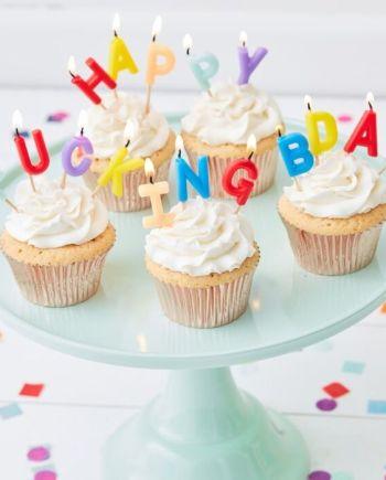 Happy Fucking Birthday Partykerze