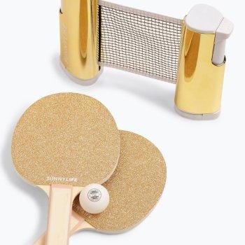 Glitzer PIng Pong Set personalisierbar