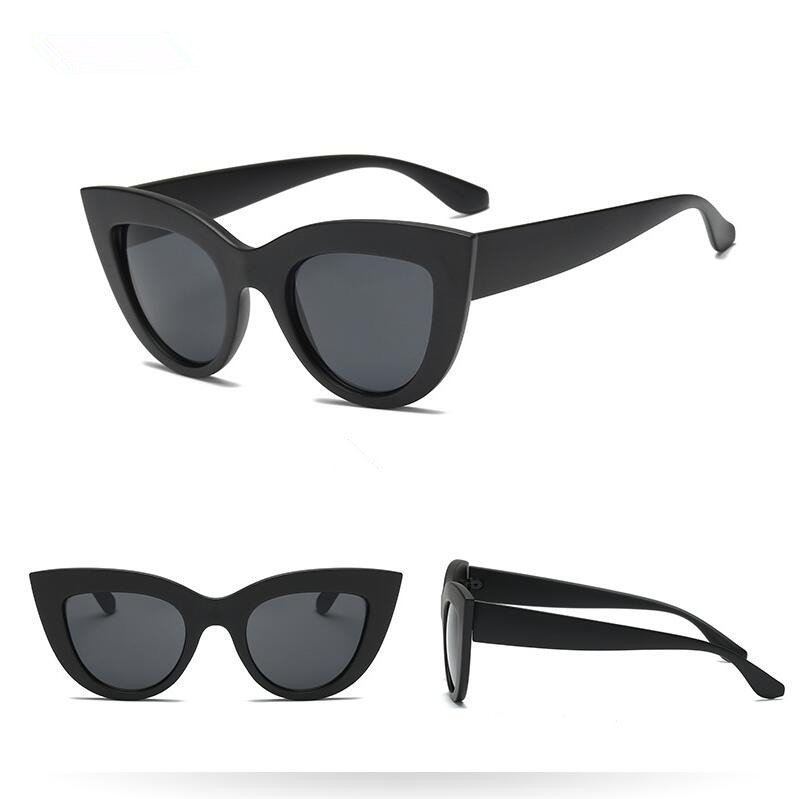 Sonnenbrille Cateye schwarz