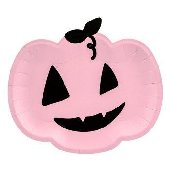 Kuerbis Teller Set rosa