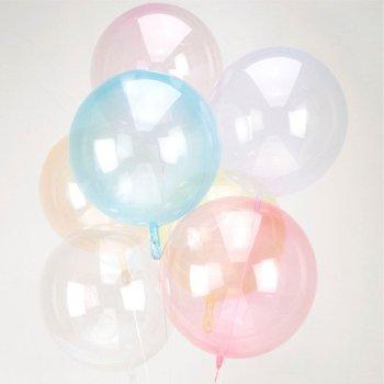 Clear Orbz Folienballon durchsichtig 6 Farben Die Macherei