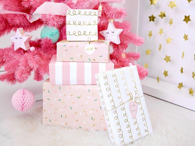 Geschenkanhänger Weihnachstschmuck Rosa Die Macherei