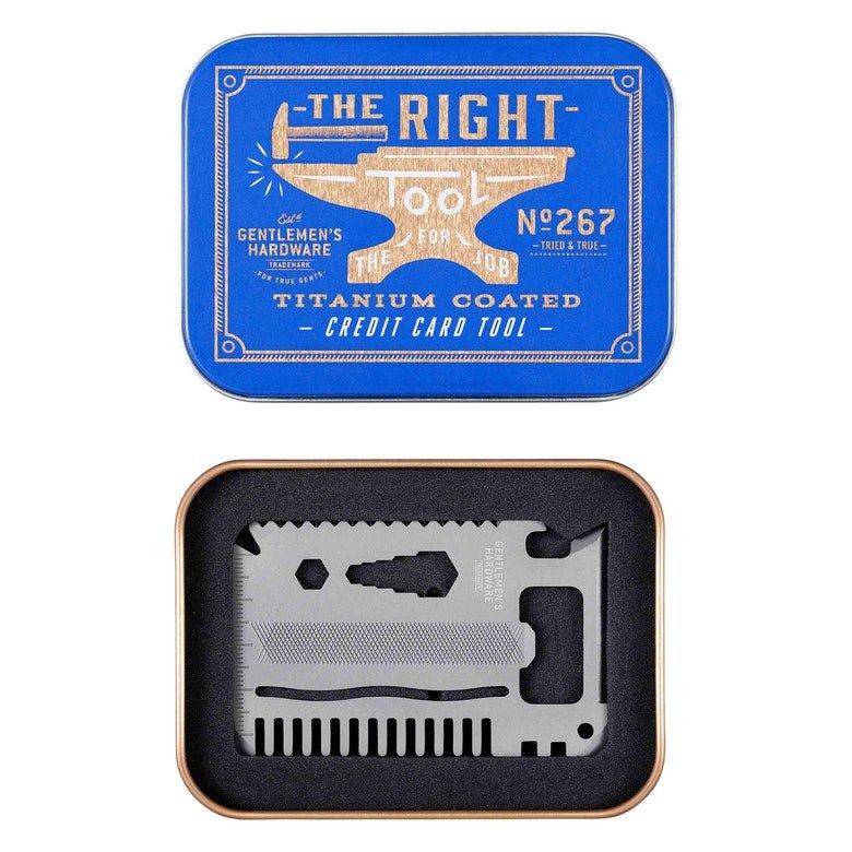 Multifunktionswerkzeug Kreditkarte Titanium